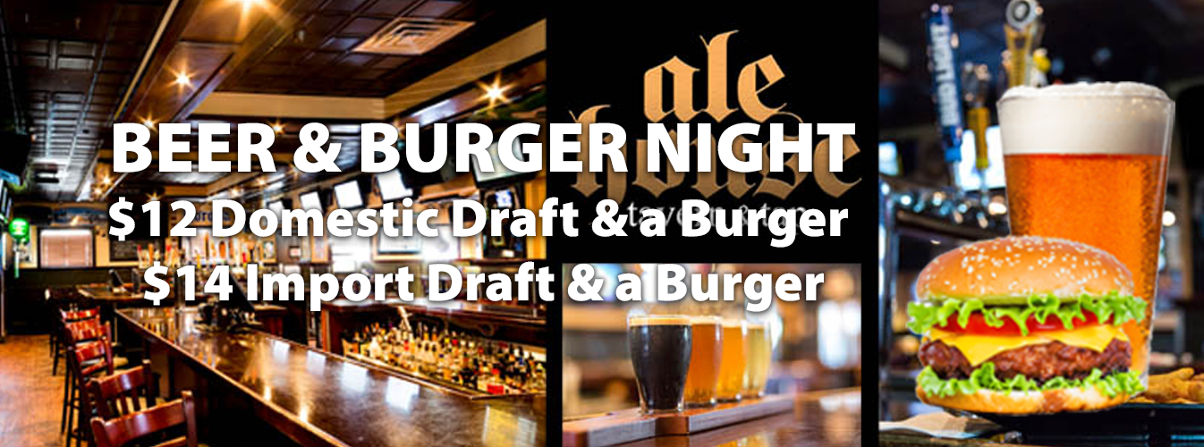 Beer & Burger Night!